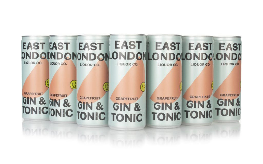 East London Grapefruit Gin and Tonic