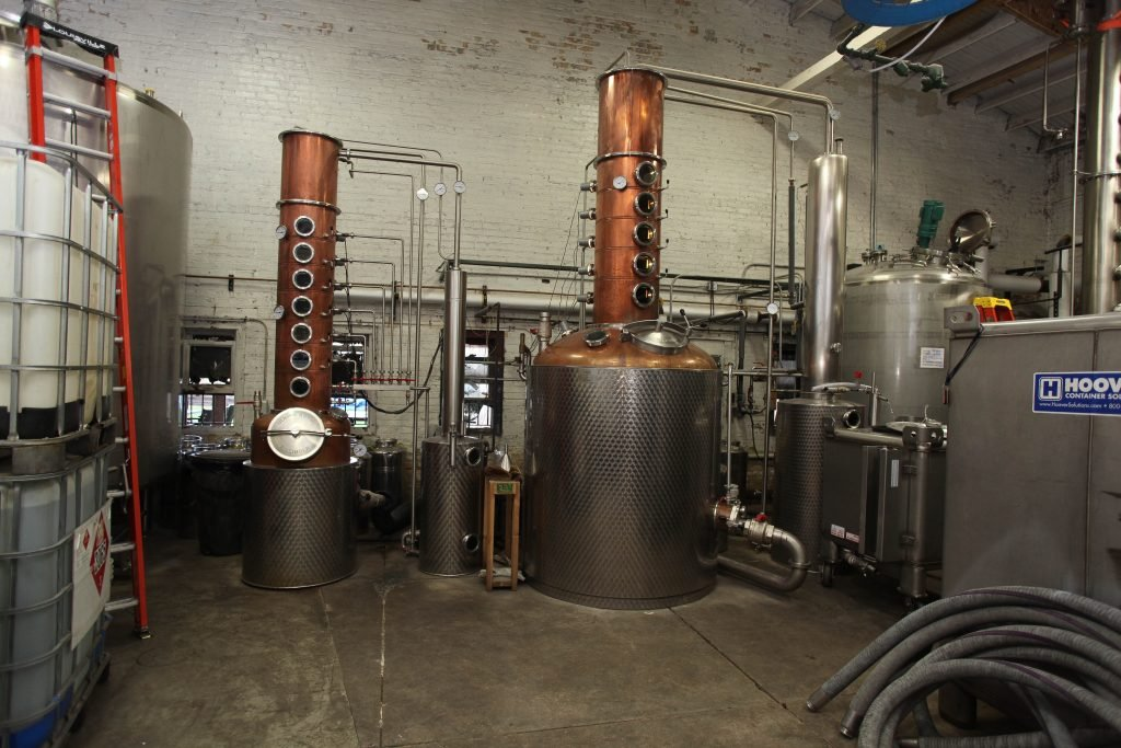 Stills at FEW Spirits in Illinois