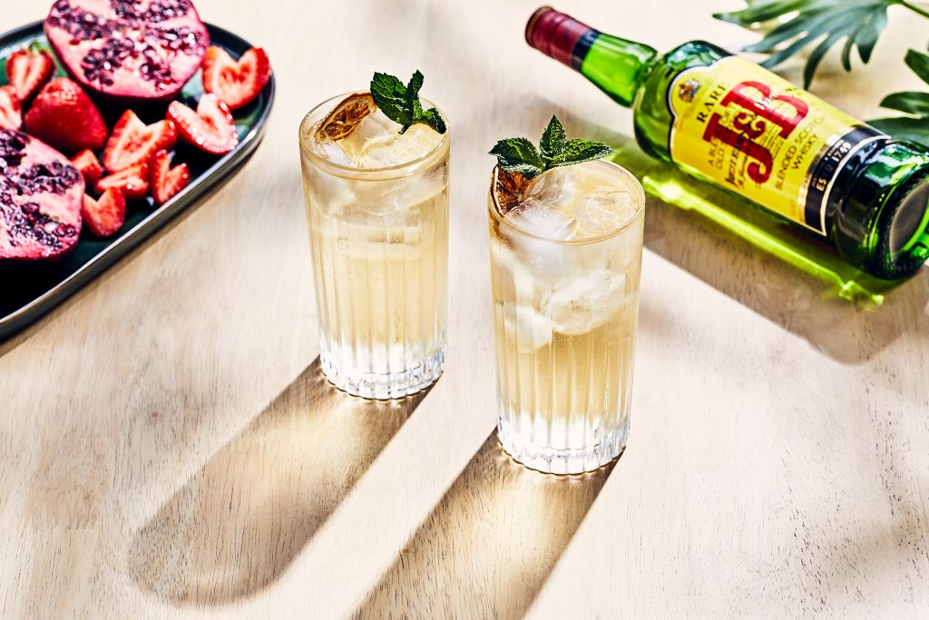 J&B rare whisky Highballs