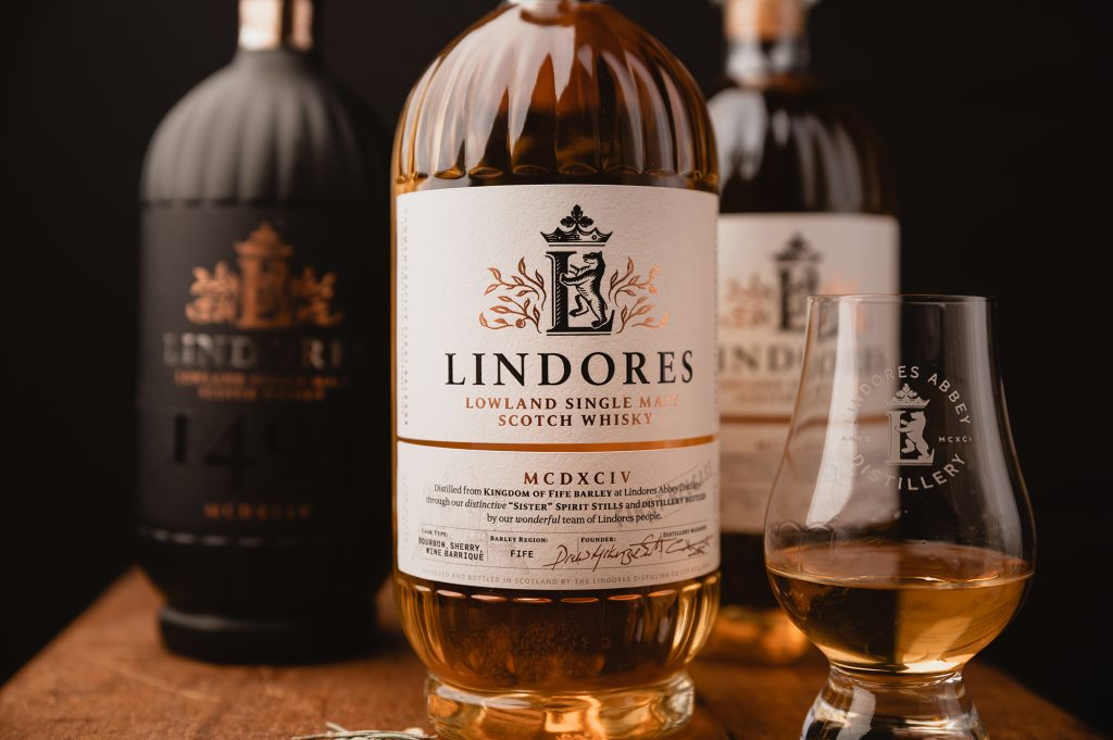 Lindores Abbey first whisky