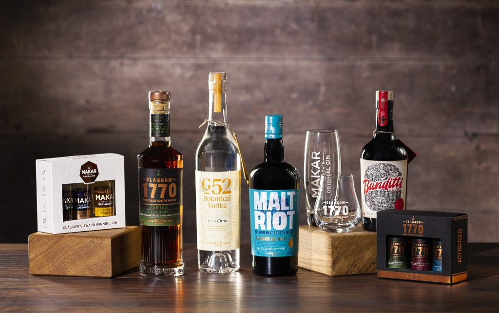 Win a bundle of booze from The Glasgow Distillery