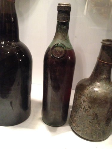 Berry Brothers and Rudd Napoleon's Cognac bottle