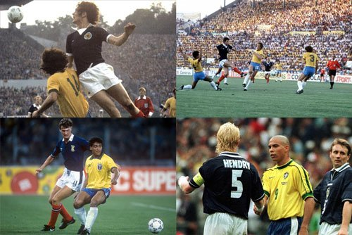 Scotland vs Brazil World Cup