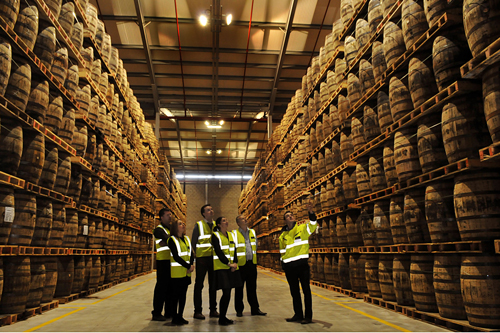 Irish Whiskey Academy Midleton Jameson Warehouse