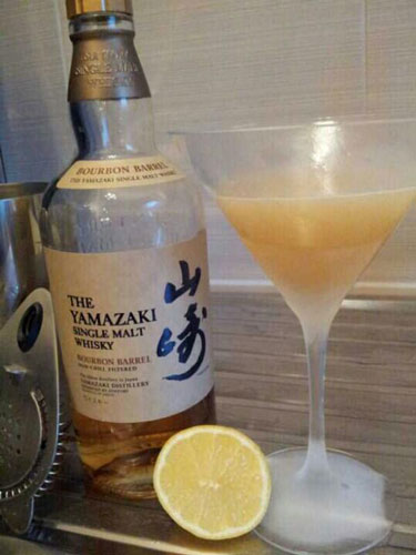 Scottish Gold Rush with Yamazaki whisky