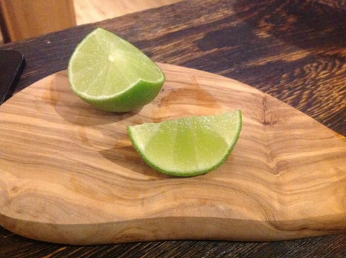 Master of Cocktails Lime wedge