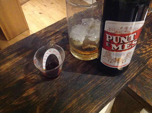 Master of Cocktails Punt e Mes Vermouth Amaro