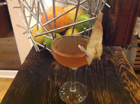 Master of Cocktails Spiced Pear Whiskey Sour
