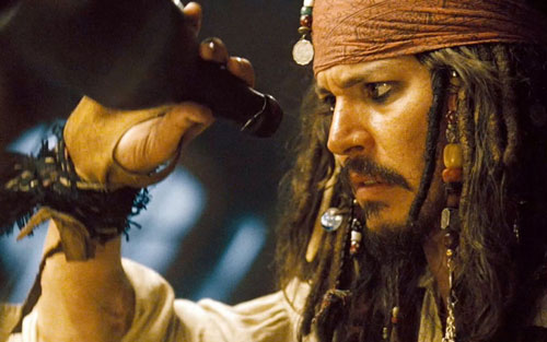 Why has all the rum gone Johnny Depp