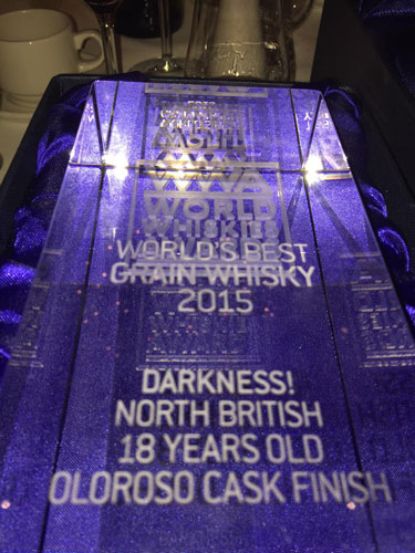 World Drinks Awards World Whiskies Awards 2015