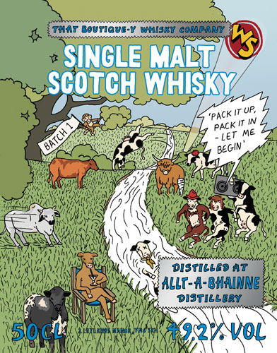 That Boutique-y Whisky Company Allt-a-Bhainne Batch 1