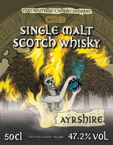 Ayrshire Batch 1 That Boutique-y Whisky Company