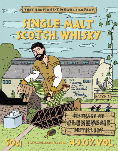 Glenburgie Batch 1 That Boutique-y Whisky Company