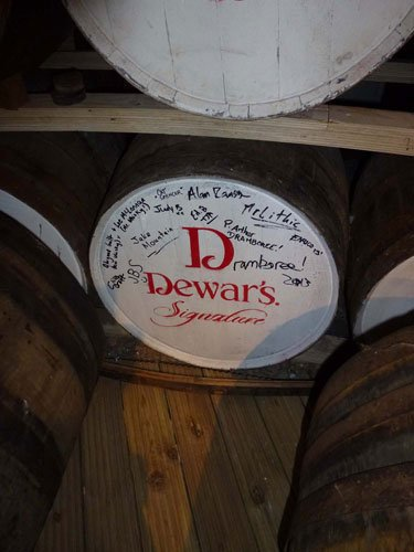 dewars cask signed dramboree whisky weekend 2013.jpg