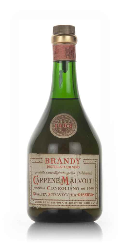 Carpene Malvolti Brandy - 1960s