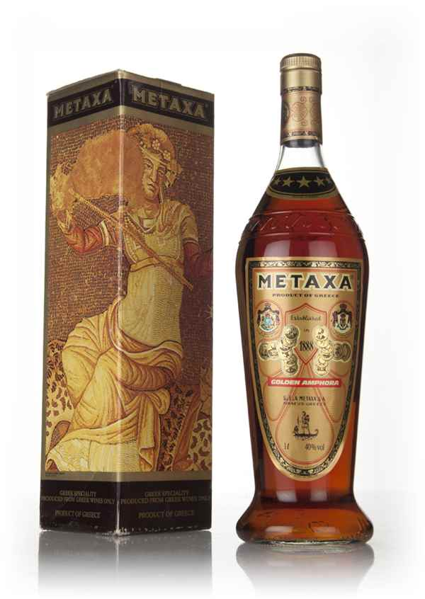 Metaxa 7 Star (1L) - 1970s
