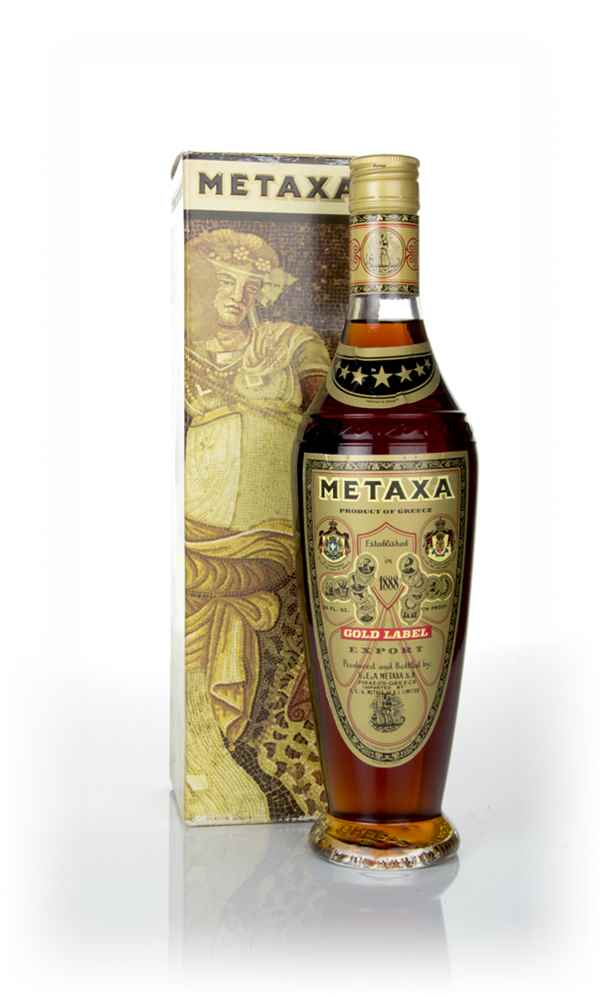 Metaxa 7 Star Gold Label  - 1970s