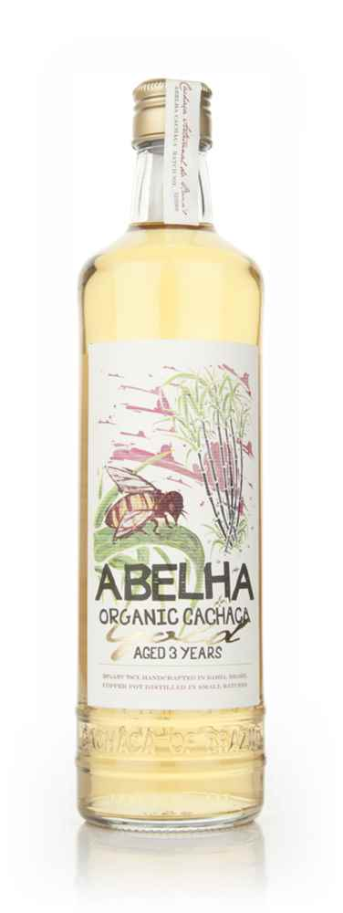Abelha 3 Year Old Gold Organic Cachaça 38%
