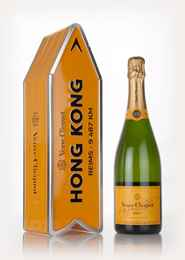 Veuve Clicquot Brut Yellow Label - Hong Kong Clicquot Arrow