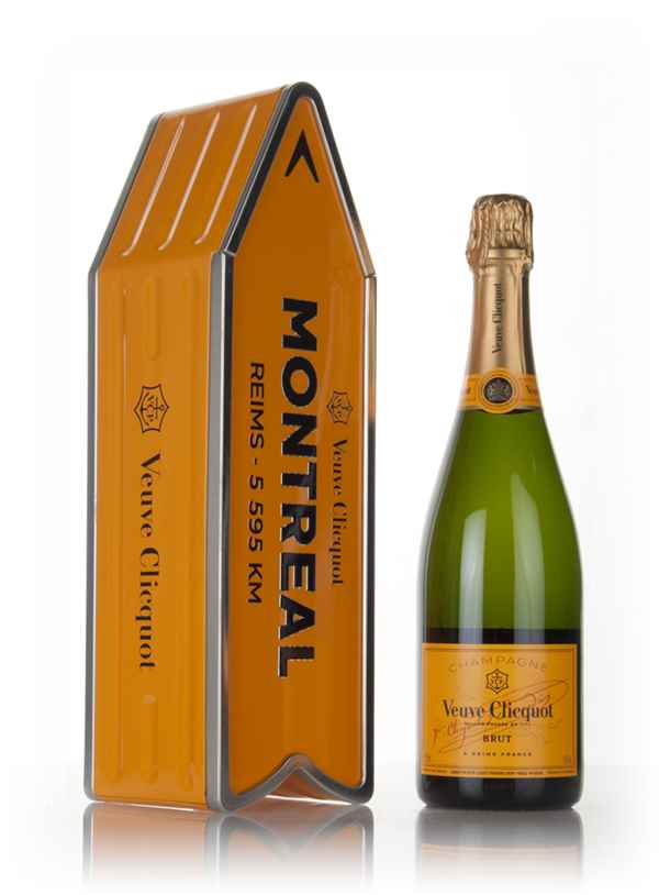 Veuve Clicquot Brut Yellow Label - Montreal Clicquot Arrow