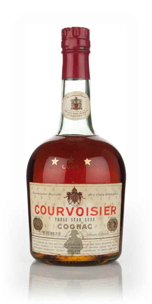 Courvoisier Three Star - 1970s