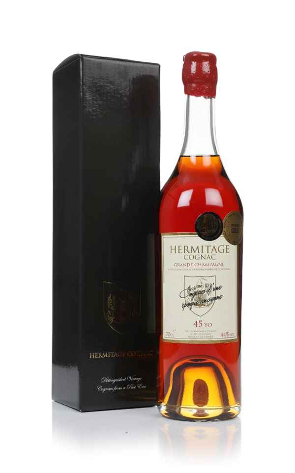 Hermitage 45 Year Old Segonzac Grande Champagne Cognac