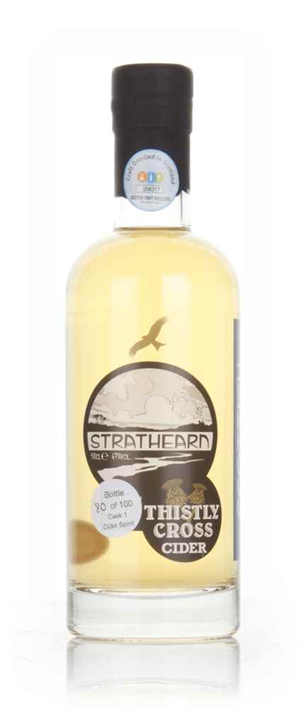 Strathearn Scottish Cider Brandy - American Oak
