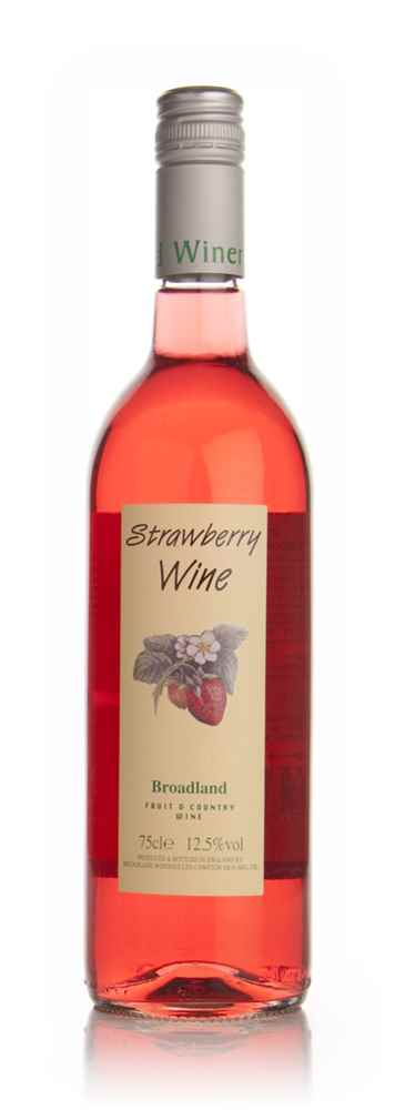 Broadland Strawberry Wine (12.5%)