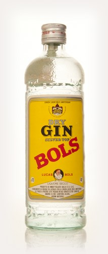 Bols Silver Top Dry Gin - 1970s