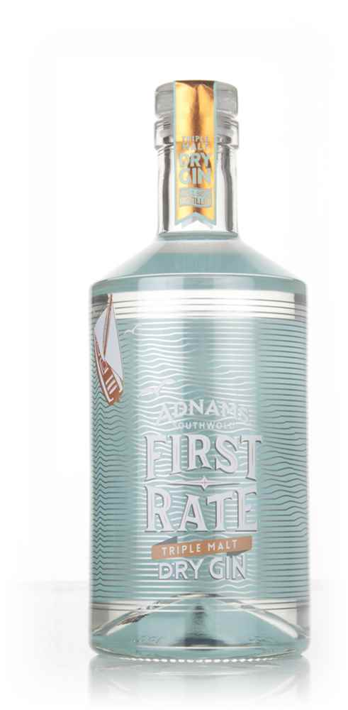 Adnams First Rate Triple Malt Dry Gin