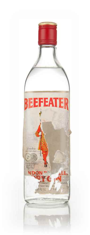 Beefeater London Distilled Dry Gin (75.7cl) - 1970s
