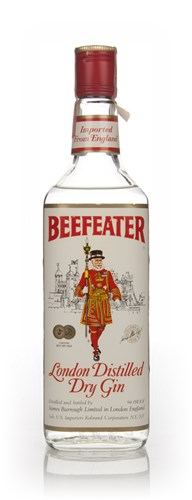 Beefeater London Dry Gin - late 1970s