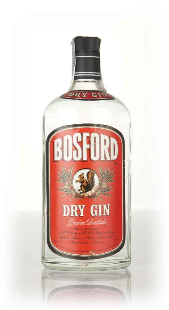 Bosford Dry London Gin - 1970s