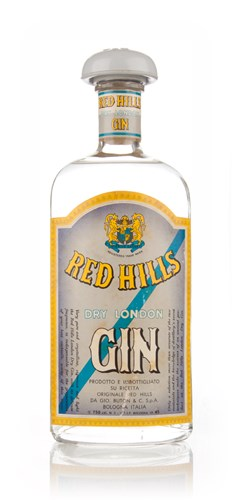 Buton Red Hills London Dry Gin - 1949-1959