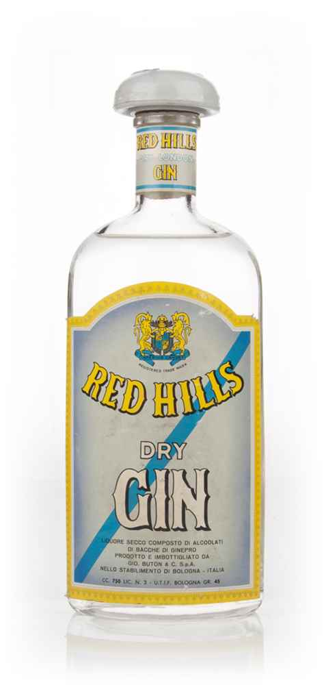 Red Hills Dry Gin - 1949-59