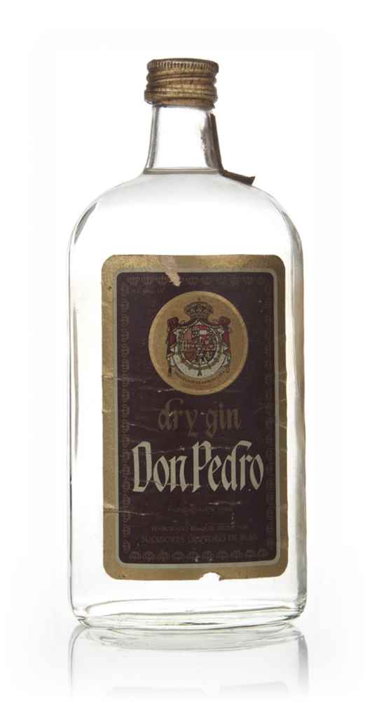 Don Pedro Dry Gin - 1970s