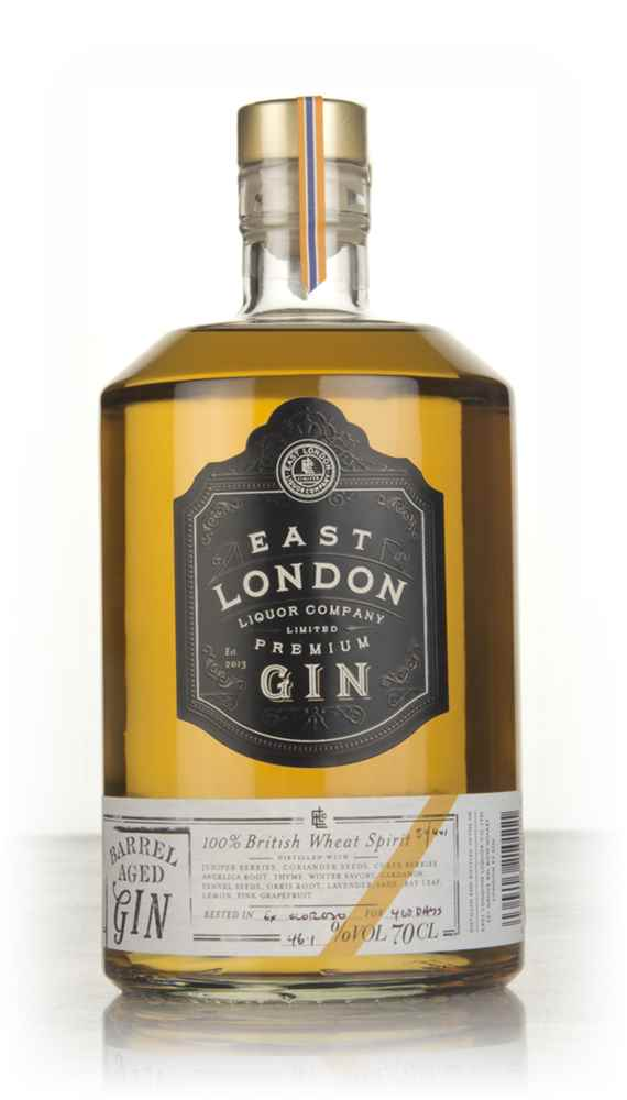 East London Liquor Company Barrel Aged Gin - Ex-Oloroso Cask