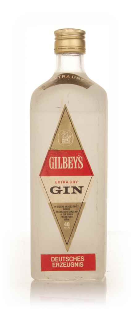Gilbey's Extra Dry Gin - 1970s