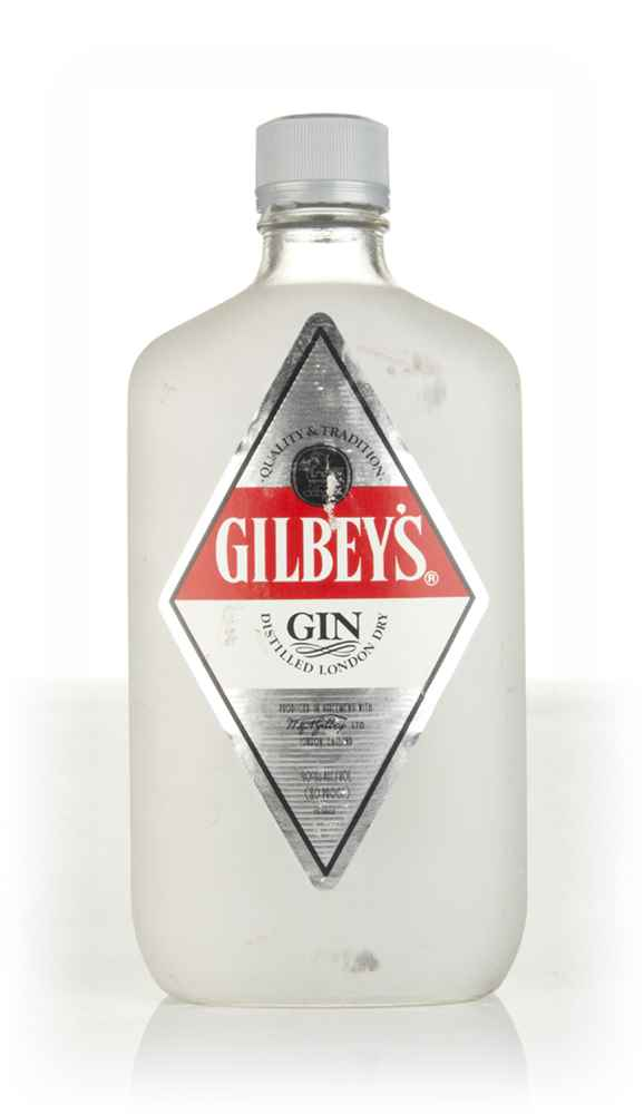 Gilbey's London Dry Gin (37.5cl) - 1990s