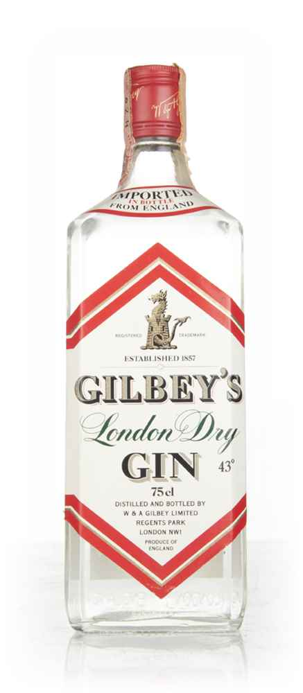 Gilbey's London Dry Gin (43%) - 1970s