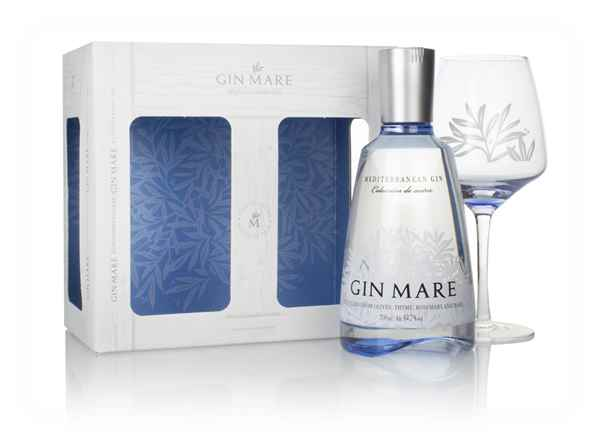 Gin Mare Gift Pack with Glass