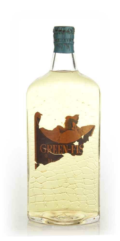 Green-Fish Orange Gin - 1960s