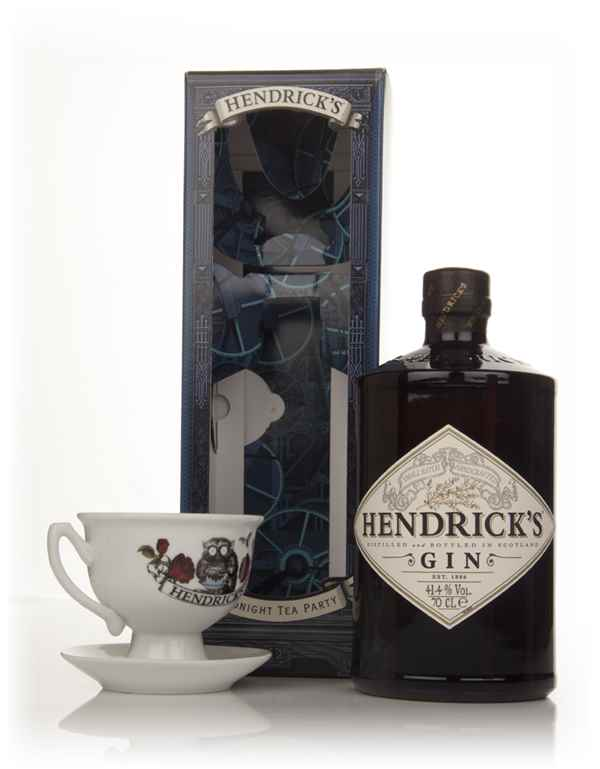 Hendrick's Gin - Midnight Tea Party Gift Box With Tea Cup