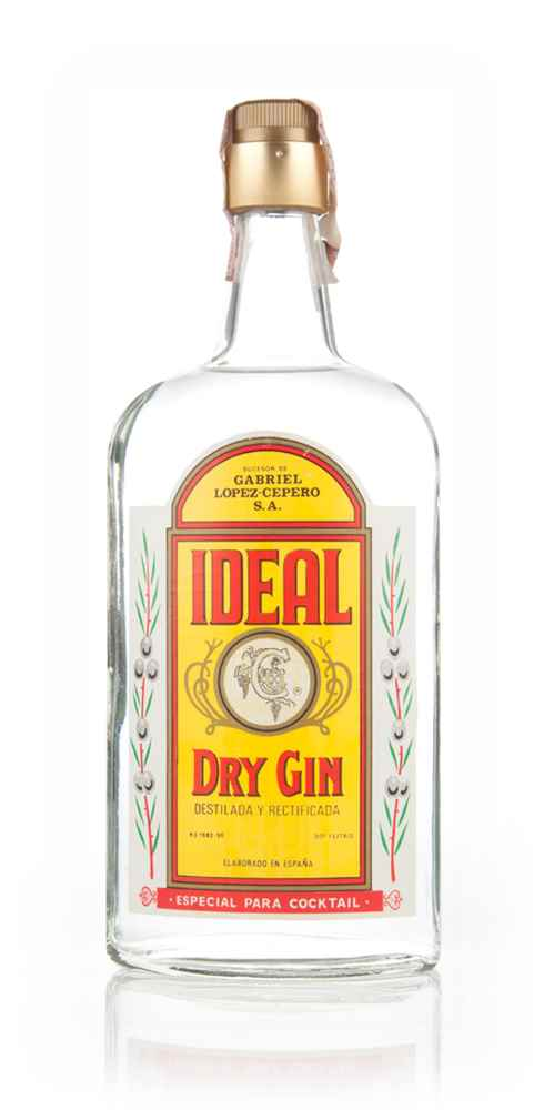 Ideal Dry Gin - 1970s