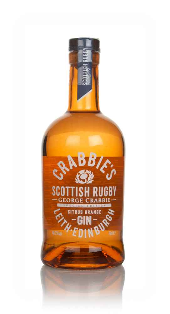 Crabbie's Scottish Rugby Citrus Orange Gin
