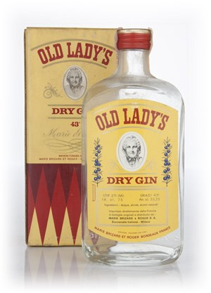 Old Lady's Dry Gin - 1970s (Boxed)