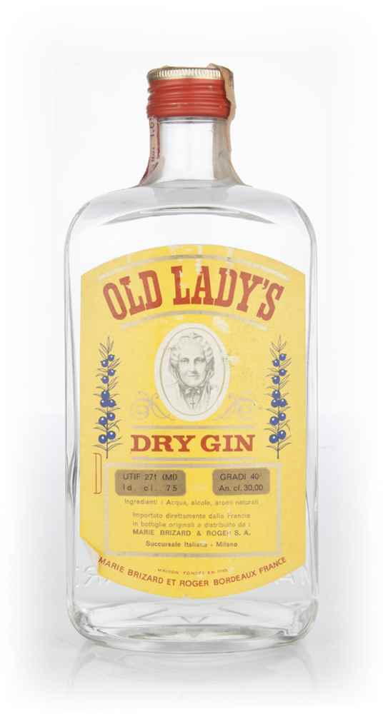 Old Lady's Dry Gin - 1970s