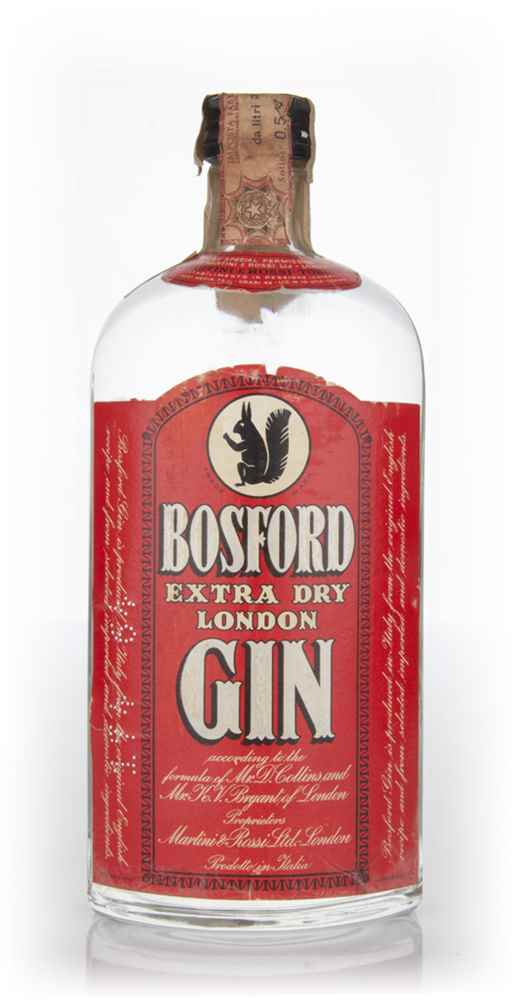 Bosford Extra Dry Gin - 1965