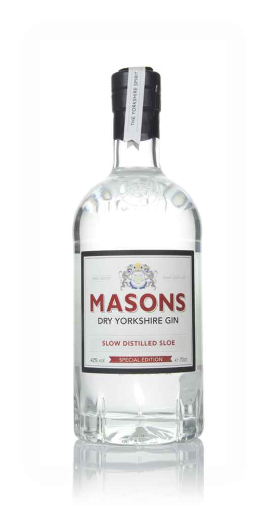 Masons Dry Yorkshire Gin - Slow Distilled Sloe