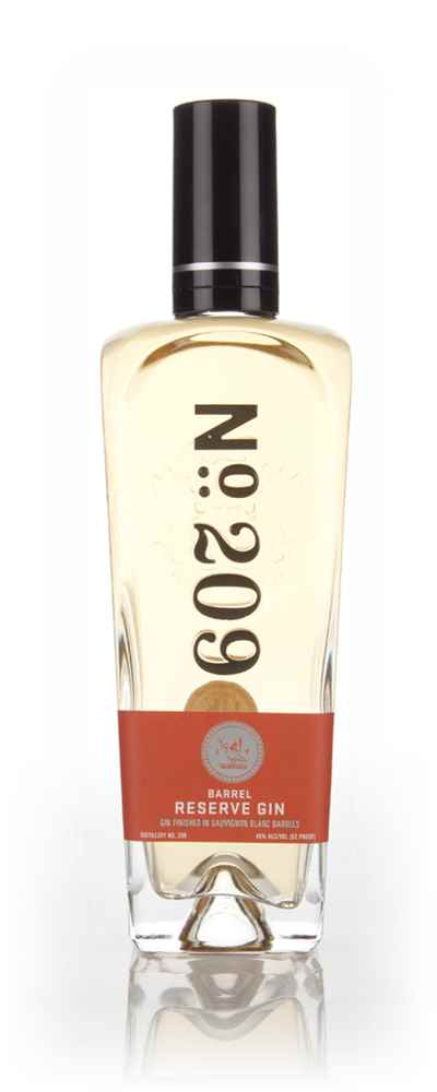 No. 209 Barrel Reserve Gin - Sauvignon Blanc Cask Finish